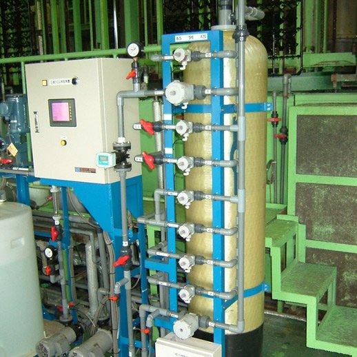 『クロループ』<p> 三価クロム 化成被膜処理液 精製装置</p>