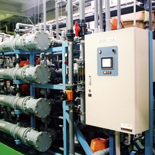 『マイクロフロー CF』<br> 中・高濃度排水 膜分離装置
